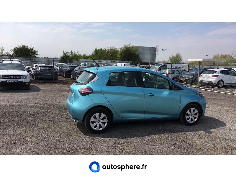RENAULT ZOE LIFE CHARGE NORMALE R110 ACHAT INTéGRAL - Miniature 2