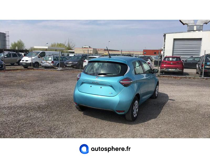 RENAULT ZOE LIFE CHARGE NORMALE R110 ACHAT INTéGRAL - Miniature 4