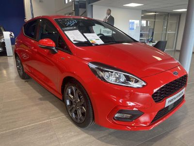 Ford Fiesta 1.0 EcoBoost 125ch mHEV ST-Line X 5p occasion