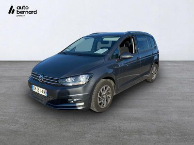 Leasing Volkswagen Touran 1.6 Tdi 115ch Bluemotion Technology Fap Sound Dsg7 7 Places