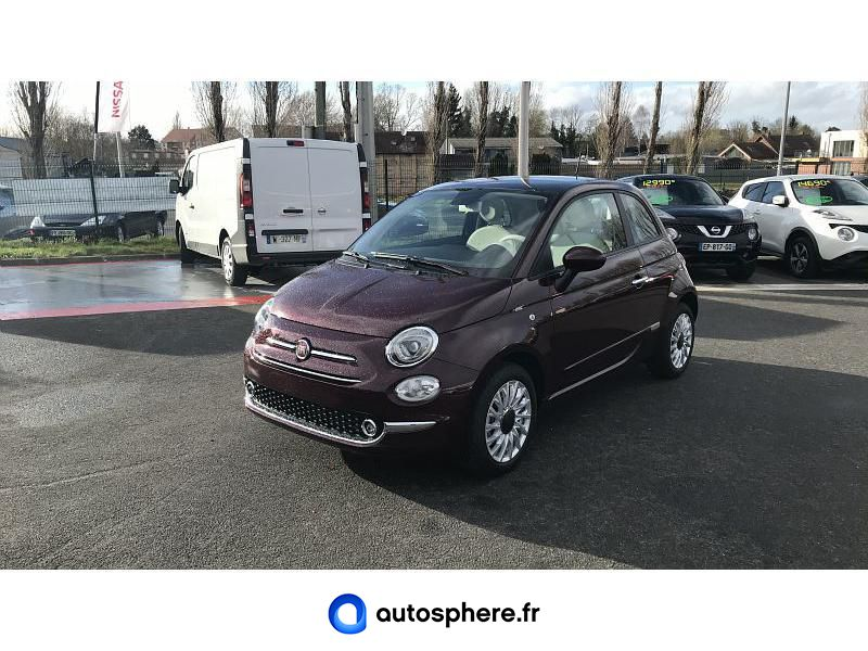 FIAT 500 1.0 70CH BSG S&S LOUNGE - Photo 1