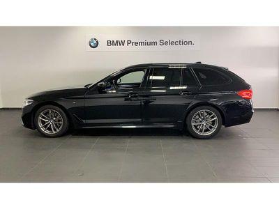 BMW SERIE 5 TOURING 520DA 190CH M SPORT STEPTRONIC - Miniature 3