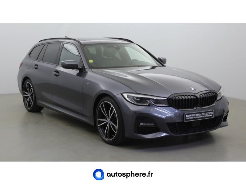 BMW SERIE 3 TOURING 320DA XDRIVE 190CH M SPORT - Miniature 3