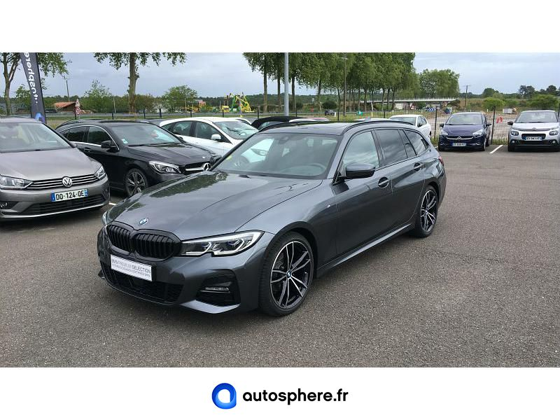 BMW SERIE 3 TOURING 320DA XDRIVE 190CH M SPORT - Miniature 1