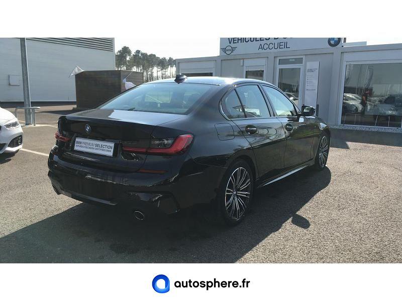 BMW SERIE 3 318DA 150CH M SPORT - Miniature 2