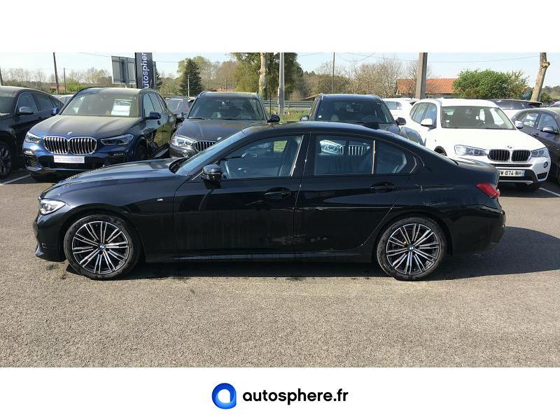 BMW SERIE 3 318DA 150CH M SPORT - Miniature 3