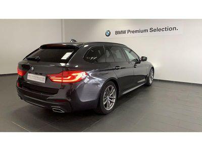 BMW SERIE 5 TOURING 520DA 190CH M SPORT STEPTRONIC - Miniature 2