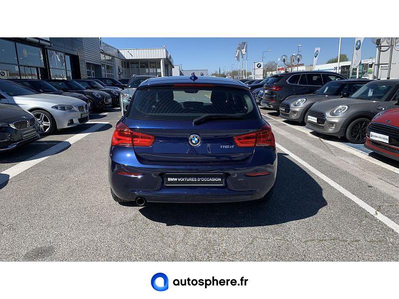 BMW SERIE 1 116D 116CH SPORT 5P - Miniature 4