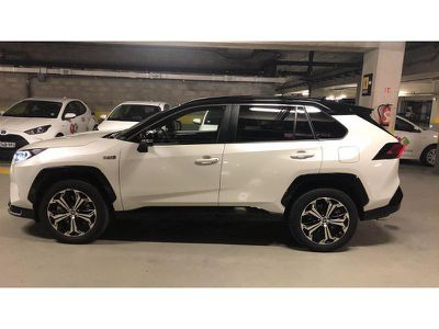 TOYOTA RAV4 HYBRIDE RECHARGEABLE 306CH COLLECTION AWD - Miniature 3