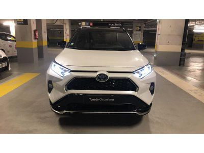 TOYOTA RAV4 HYBRIDE RECHARGEABLE 306CH COLLECTION AWD - Miniature 5