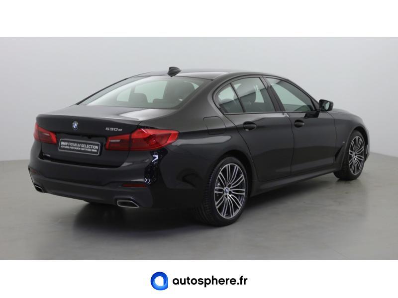 BMW SERIE 5 530EA 252CH M SPORT STEPTRONIC EURO6D-T - Miniature 5