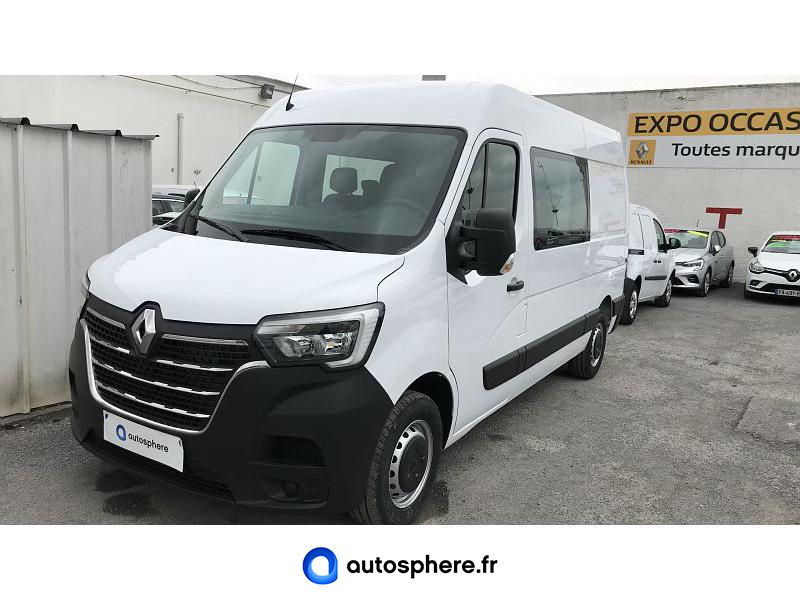 RENAULT MASTER F3500 L2H2 2.3 DCI 150CH ENERGY CABINE APPROFONDIE GRAND CONFORT EURO6 - Miniature 1