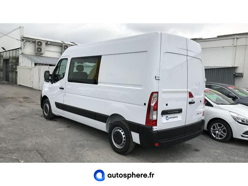 RENAULT MASTER F3500 L2H2 2.3 DCI 150CH ENERGY CABINE APPROFONDIE GRAND CONFORT EURO6 - Miniature 3