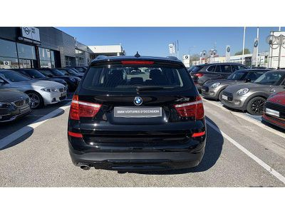 BMW X3 XDRIVE20D 190CH LOUNGE PLUS - Miniature 4