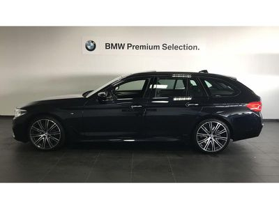 BMW SERIE 5 TOURING 540IA XDRIVE 340CH M SPORT STEPTRONIC - Miniature 5
