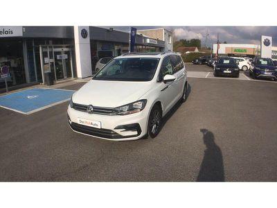 Leasing Volkswagen Touran 1.6 Tdi 115ch Bluemotion Technology Fap R-line Dsg7 7 Places