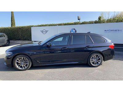 BMW SERIE 5 TOURING 520DA 190CH M SPORT STEPTRONIC - Miniature 3