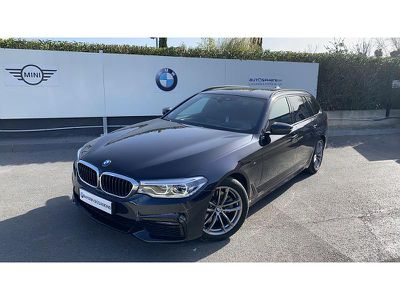 BMW SERIE 5 TOURING 520DA 190CH M SPORT STEPTRONIC - Miniature 1