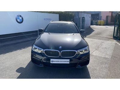 BMW SERIE 5 TOURING 520DA 190CH M SPORT STEPTRONIC - Miniature 5