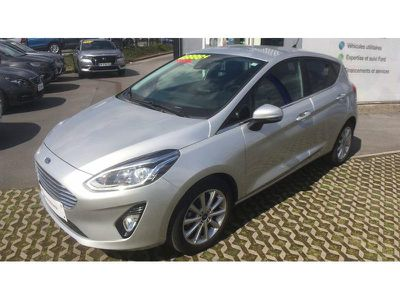 Ford Fiesta 1.0 EcoBoost 100ch Stop&Start Titanium 5p Euro6.2 occasion