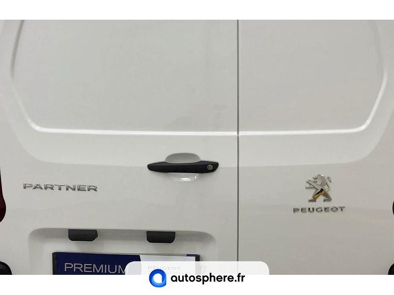PEUGEOT PARTNER STANDARD 650KG BLUEHDI 100CH S&S PREMIUM - Miniature 4