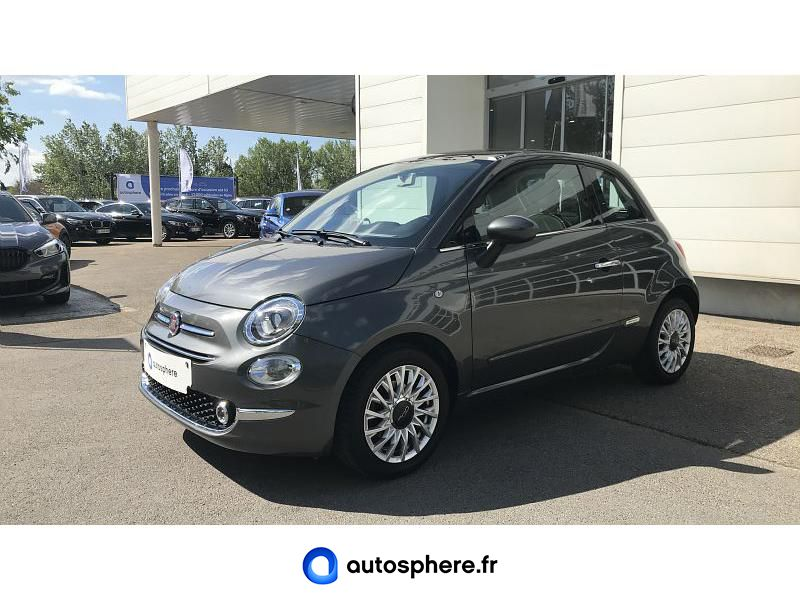 FIAT 500 1.2 8V 69CH ECO PACK LOUNGE - Photo 1