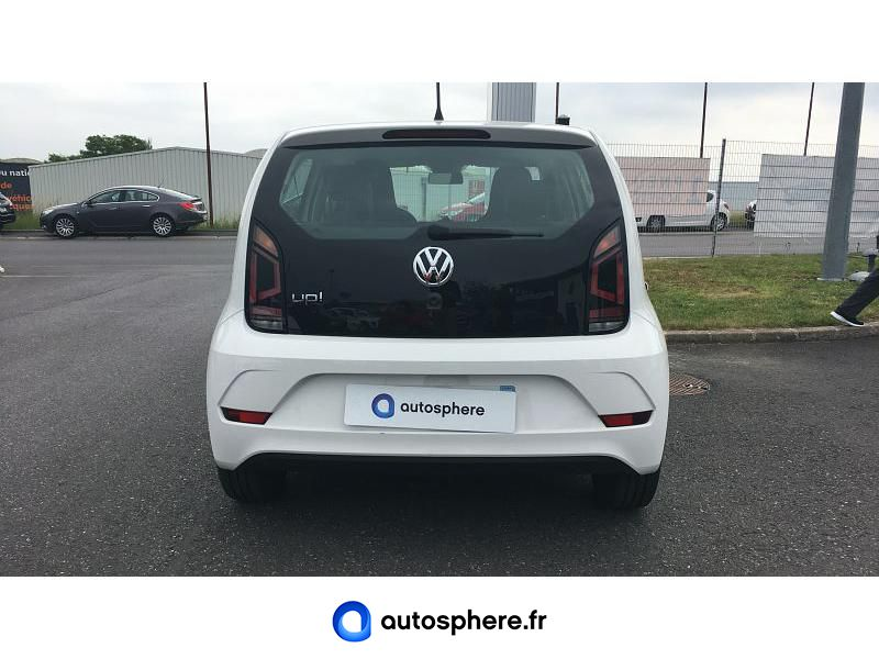 VOLKSWAGEN UP! 1.0 60CH BLUEMOTION TECHNOLOGY UP! CONNECT 5P EURO6D-T - Miniature 4