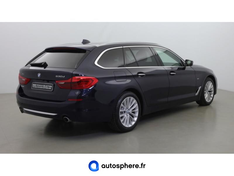 BMW SERIE 5 TOURING 530DA XDRIVE 265CH LUXURY - Miniature 5