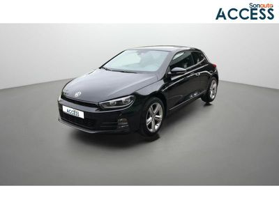 Volkswagen Scirocco 2.0 TDI 150ch BlueMotion Technology FAP Black Session DSG6 occasion