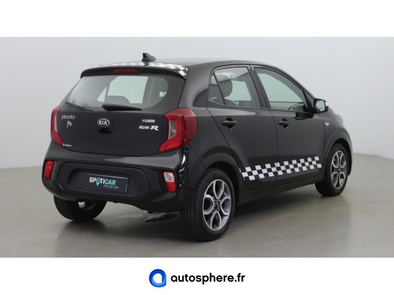KIA PICANTO 1.0 T-GDI 100CH GT LINE ISG EURO6D-T - Miniature 5