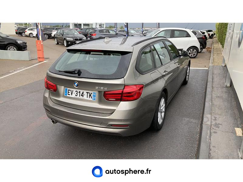 BMW SERIE 3 TOURING 316D 116CH LOUNGE - Miniature 2