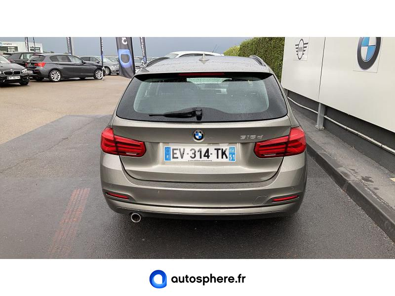 BMW SERIE 3 TOURING 316D 116CH LOUNGE - Miniature 4