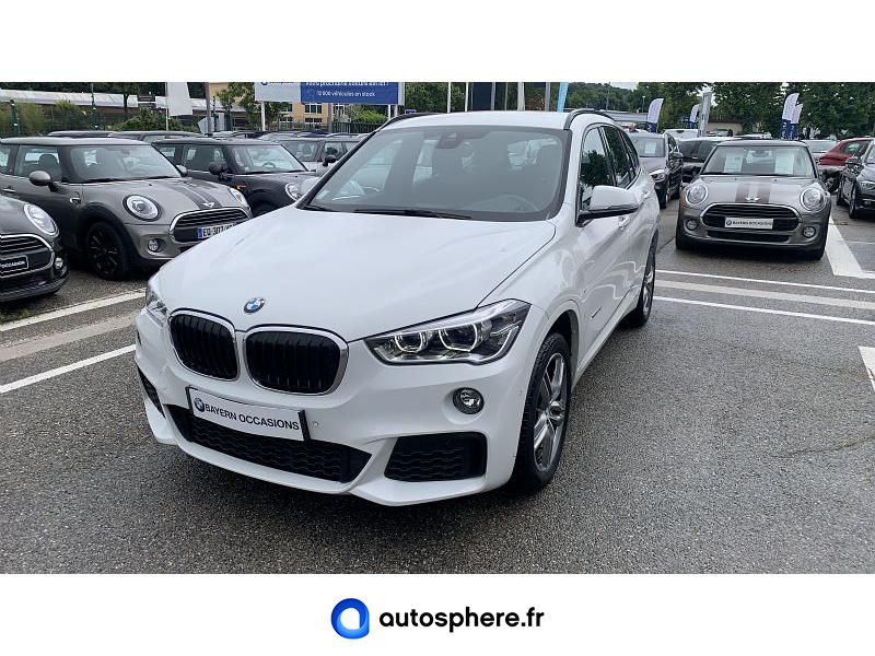 BMW X1 XDRIVE20D 190CH M SPORT - Miniature 1