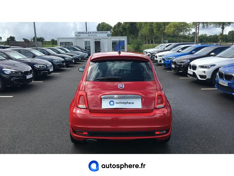 FIAT 500 1.2 8V 69CH S - Miniature 4