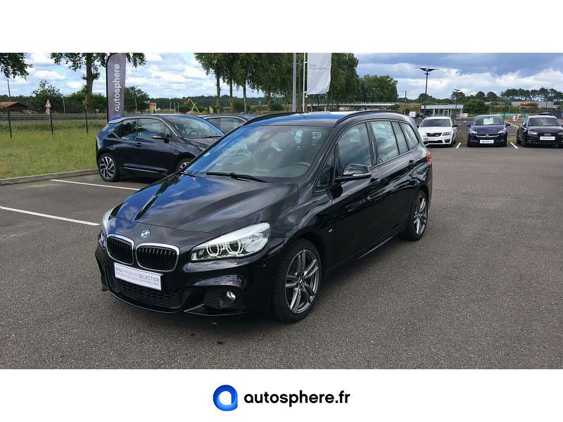 BMW SERIE 2 GRAN TOURER 218DA 150CH M SPORT - Miniature 1