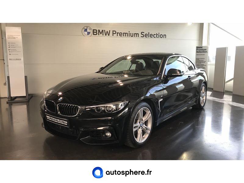 BMW SERIE 4 CABRIOLET 420DA 190CH M SPORT EURO6C - Miniature 1