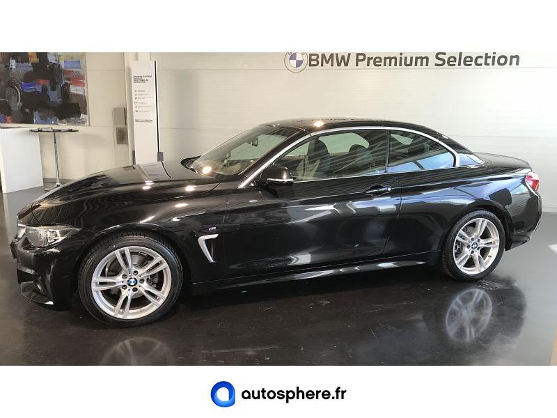 BMW SERIE 4 CABRIOLET 420DA 190CH M SPORT EURO6C - Miniature 3