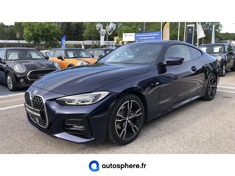 BMW SERIE 4 COUPE 420IA 184CH M SPORT - Miniature 1