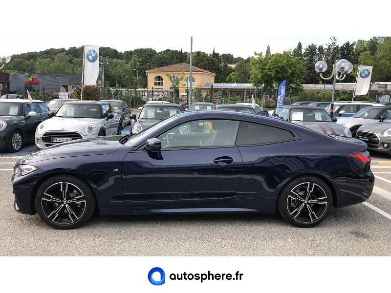 BMW SERIE 4 COUPE 420IA 184CH M SPORT - Miniature 3