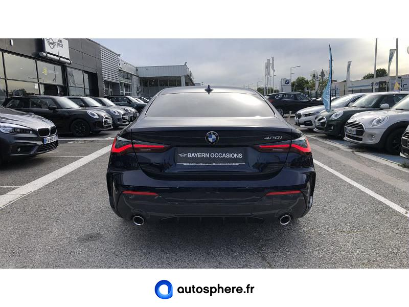 BMW SERIE 4 COUPE 420IA 184CH M SPORT - Miniature 4