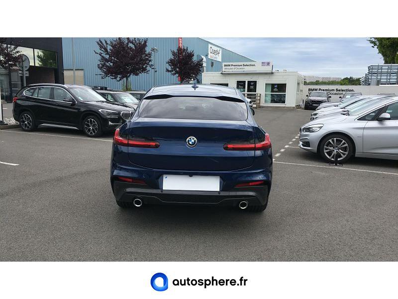 BMW X4 XDRIVE20D 190CH M SPORT 10CV - Miniature 4