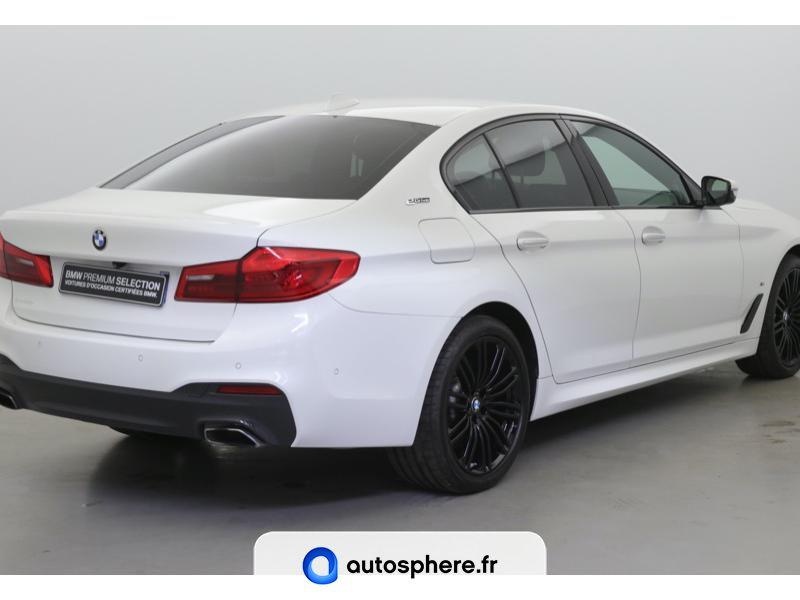 BMW SERIE 5 530EA IPERFORMANCE 252CH M SPORT STEPTRONIC - Miniature 5