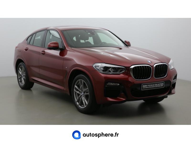 BMW X4 XDRIVE20D 190CH M SPORT EURO6D-T - Miniature 3