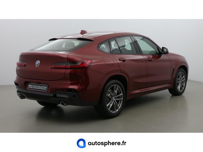 BMW X4 XDRIVE20D 190CH M SPORT EURO6D-T - Miniature 5