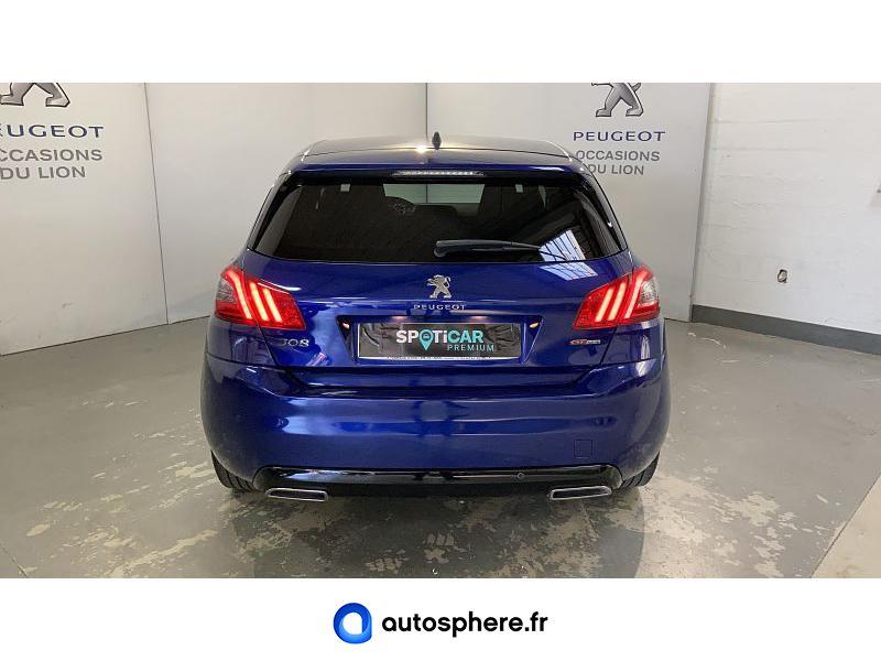 PEUGEOT 308 1.5 BLUEHDI 130CH S&S GT LINE - Miniature 4