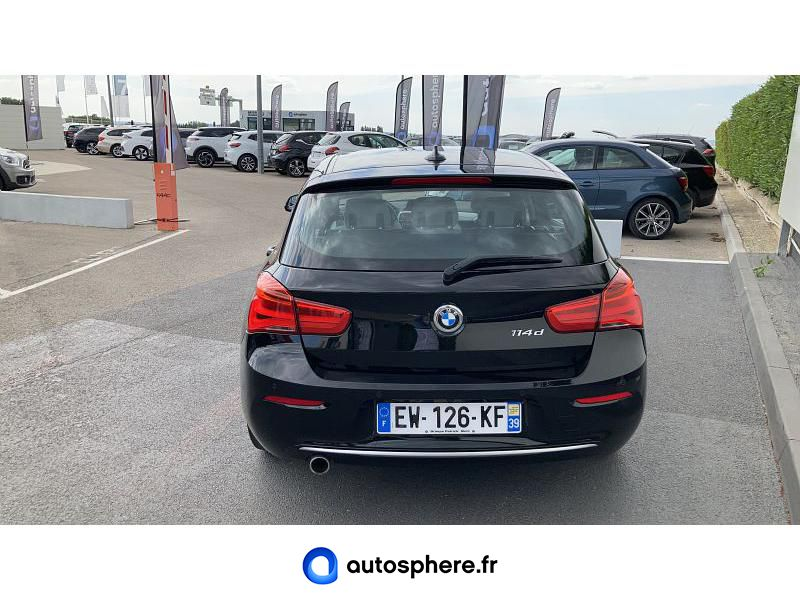 BMW SERIE 1 114D 95CH URBANCHIC 5P - Miniature 4