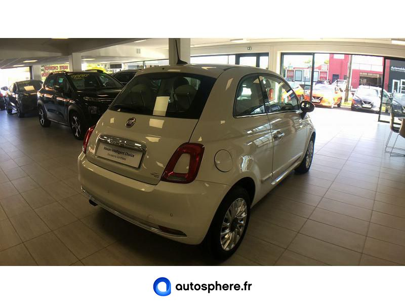 FIAT 500 0.9 8V TWINAIR 85CH S&S LOUNGE - Miniature 2