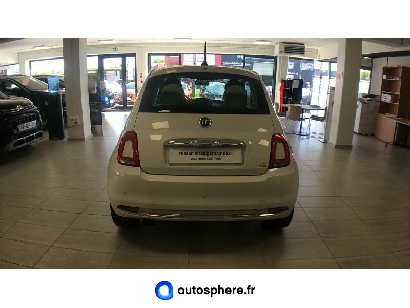 FIAT 500 0.9 8V TWINAIR 85CH S&S LOUNGE - Miniature 4