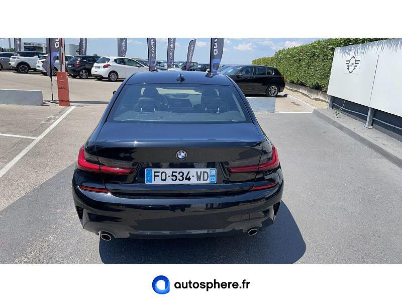 BMW SERIE 3 318DA 150CH M SPORT - Miniature 4