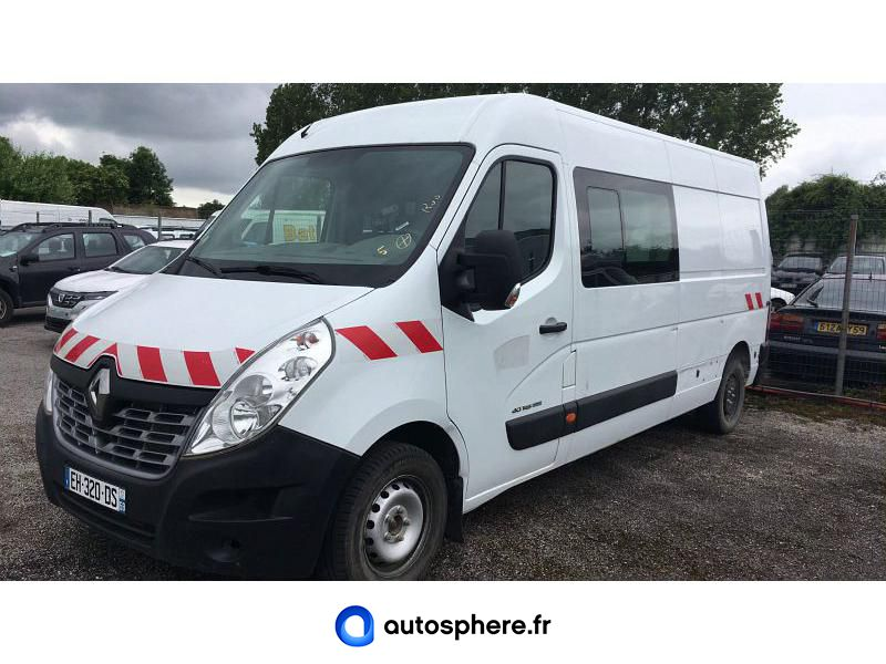 RENAULT MASTER F3500 L3H2 2.3 DCI 145CH ENERGY CABINE APPROFONDIE CONFORT EURO6 - Miniature 1